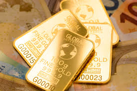 Lingotes de oro fino inversión